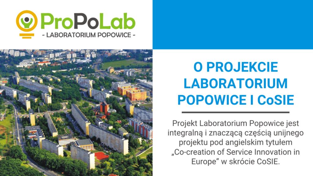 O projekcie Laboratorium Popowice i CoSIE