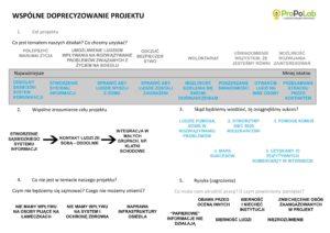 Doprecyzowanie projektu
