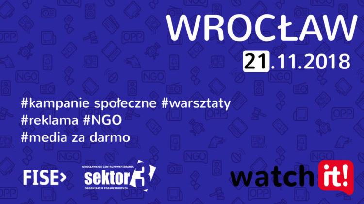 Warsztaty Watch it - Wrocław