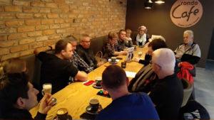 Spotkanie w Rondo Cafe